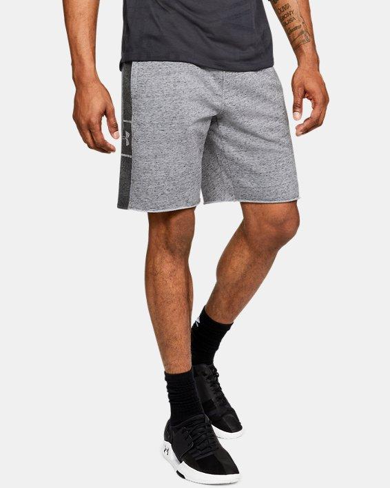 Men's UA EZ Knit Shorts, Gray, pdpMainDesktop image number 0