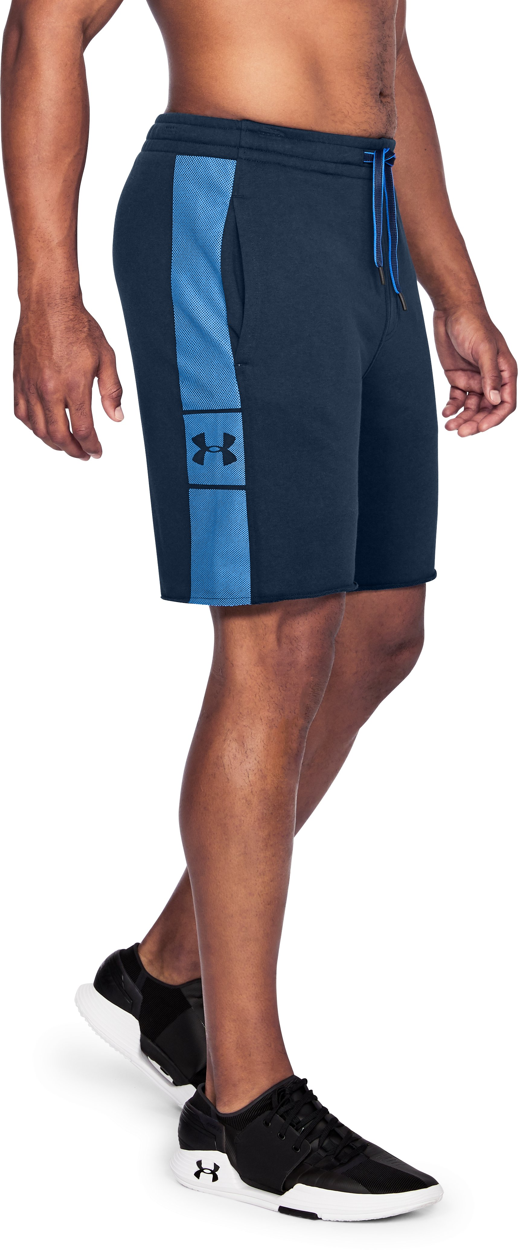 Men's UA EZ Knit Shorts, Academy,