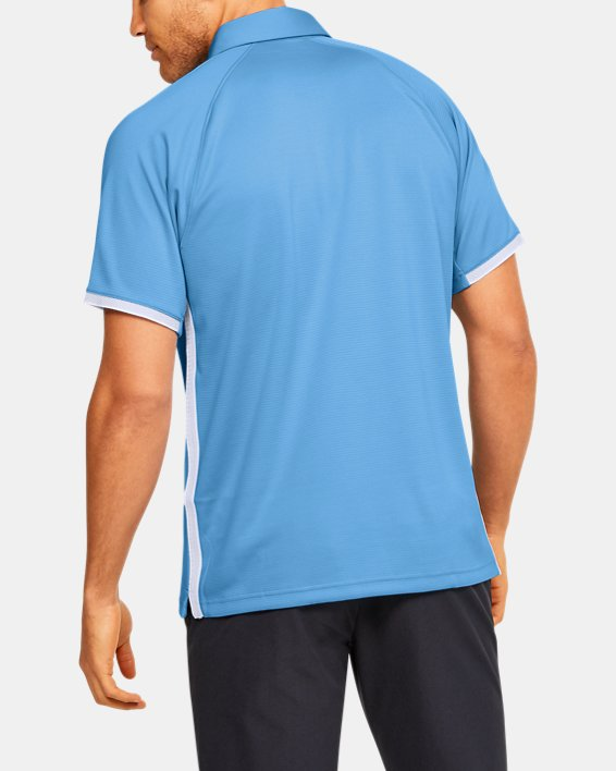Men's UA Rival Polo, Blue, pdpMainDesktop image number 2