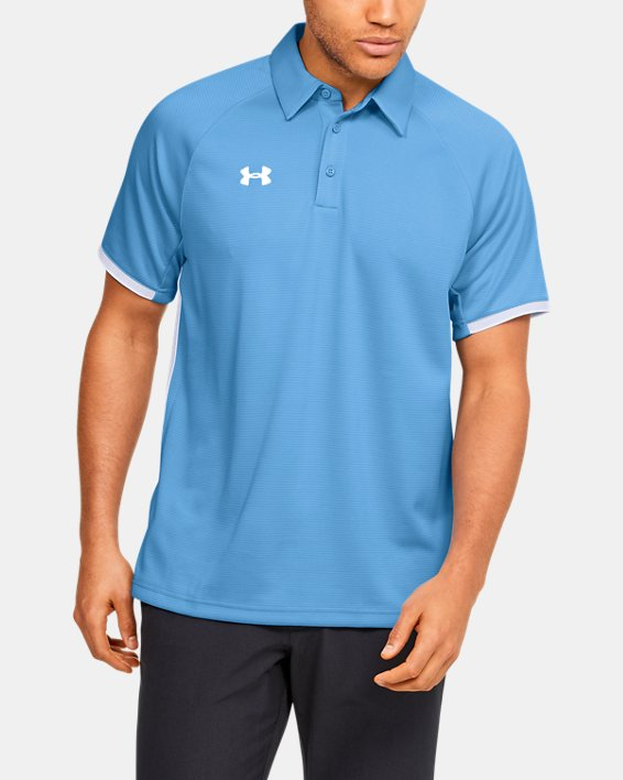 Men's UA Rival Polo, Blue, pdpMainDesktop image number 1