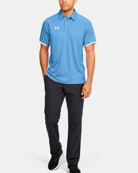 Men's UA Rival Polo, Blue, pdpMainDesktop image number 0