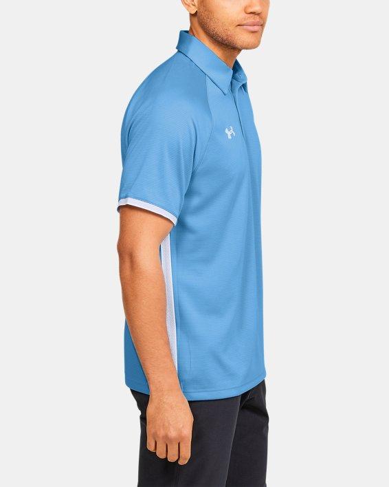 Men's UA Rival Polo, Blue, pdpMainDesktop image number 3