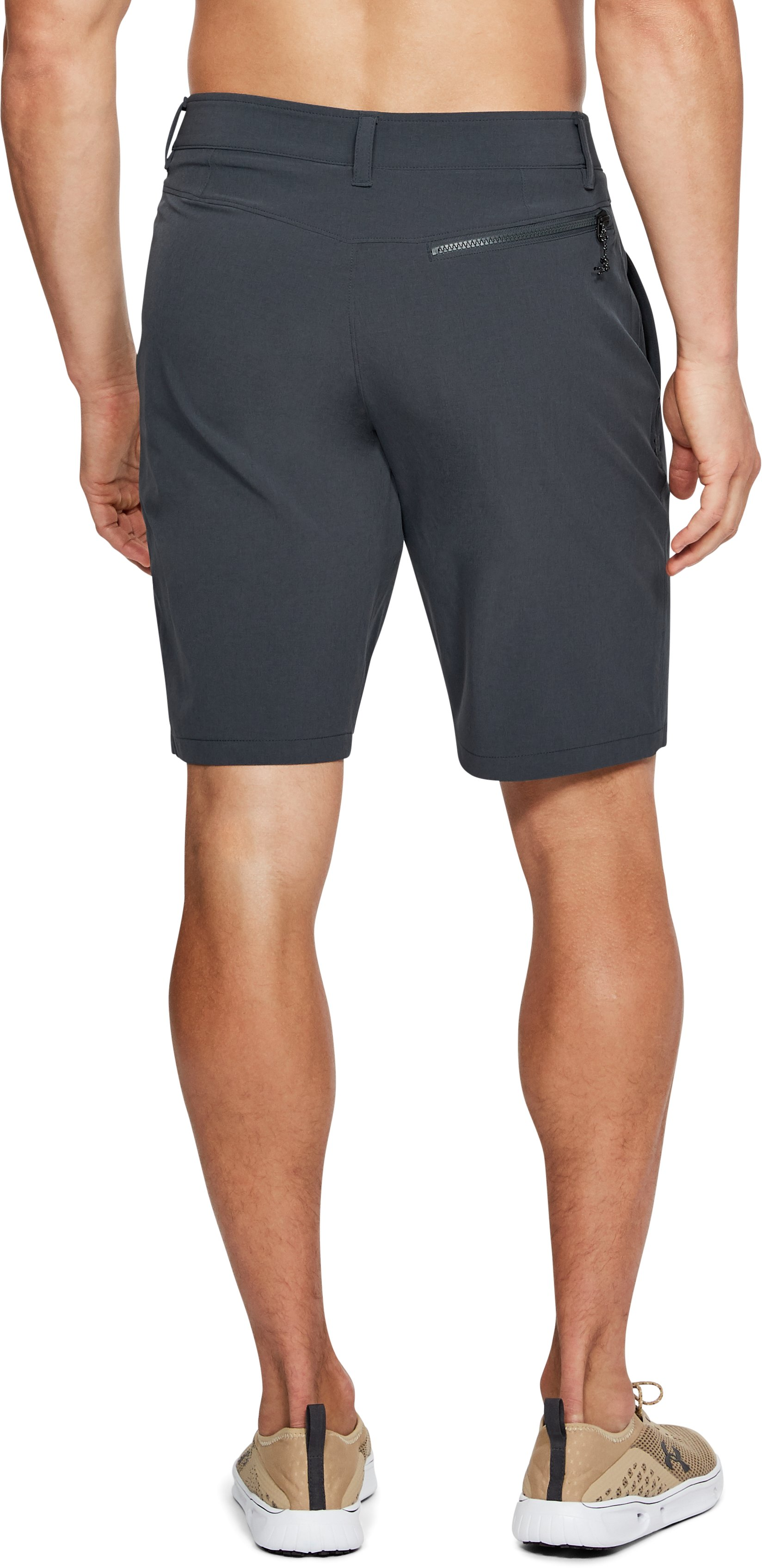 Men's UA Mantra Shorts, STEALTH GRAY,