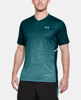 Men's UA Forge V-Neck Patterned LIMITED TIME: FREE SHIPPING 1  Color Available $75