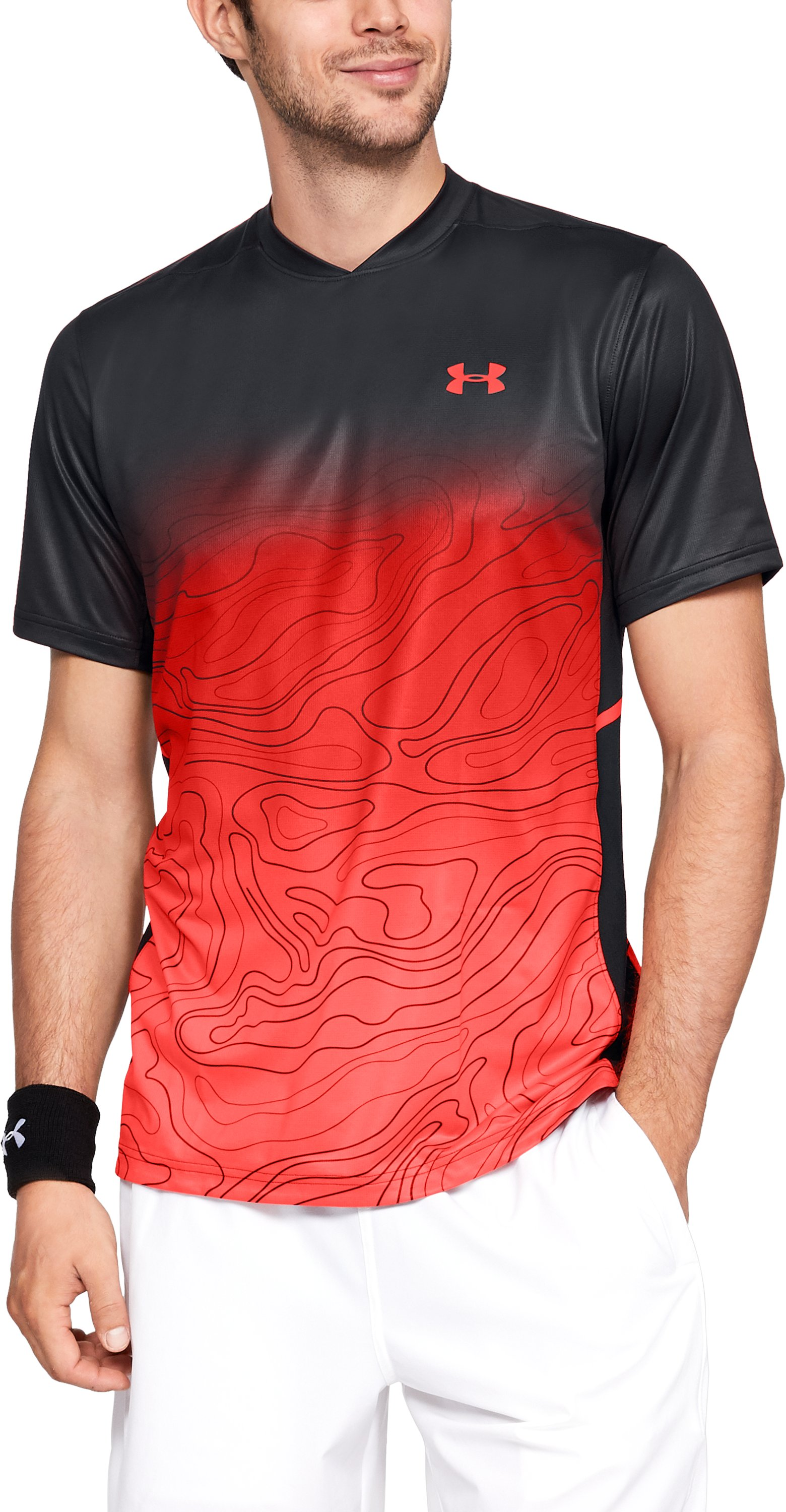 Men's UA Forge Short Sleeve, Black