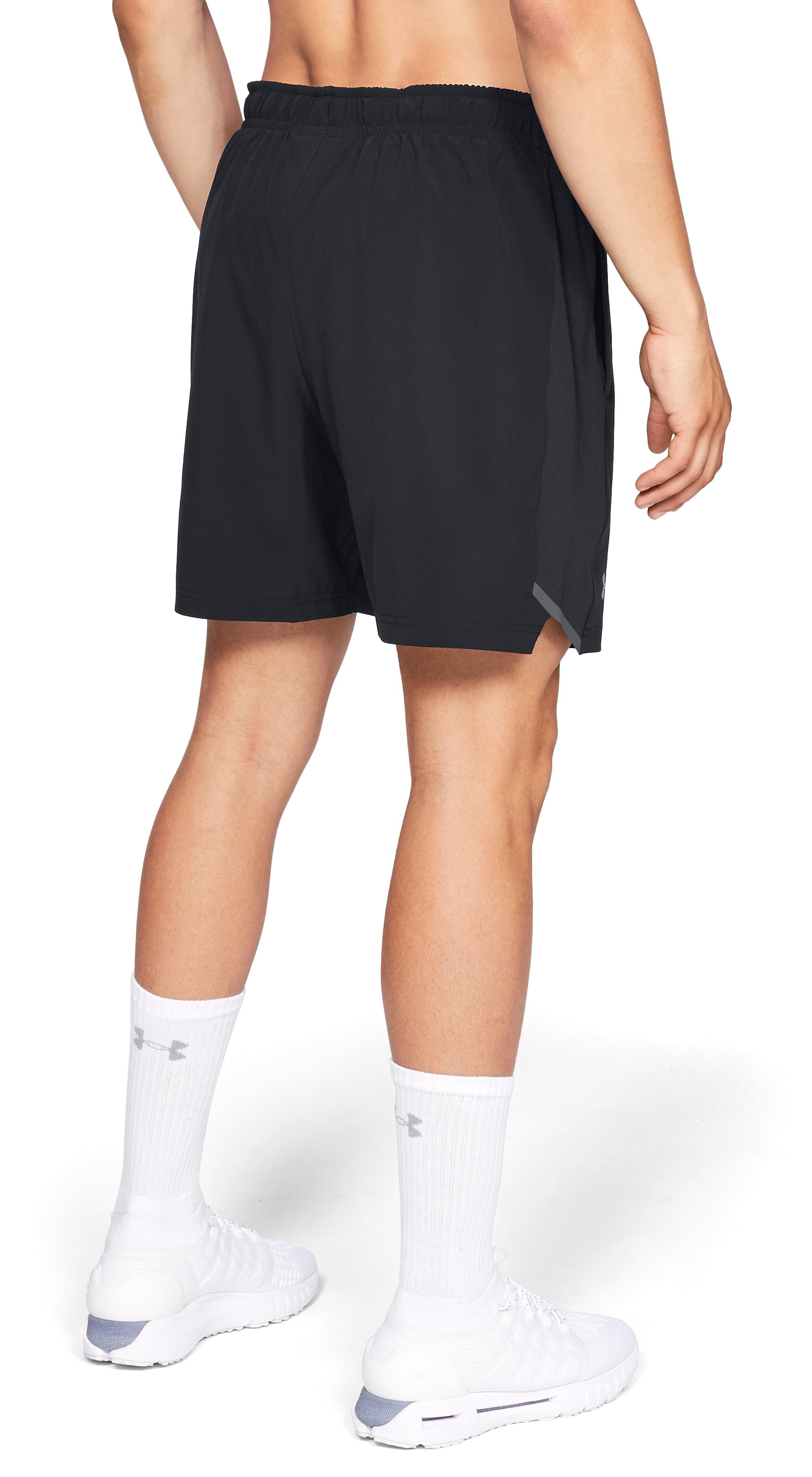 "Men's UA Forge 7"" Tennis Shorts, Black ,"