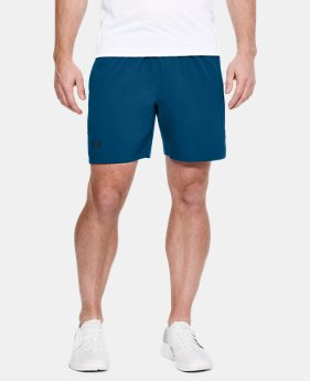 "New to Outlet Men's UA Forge 7"" Tennis Shorts  1  Color Available $48.75"