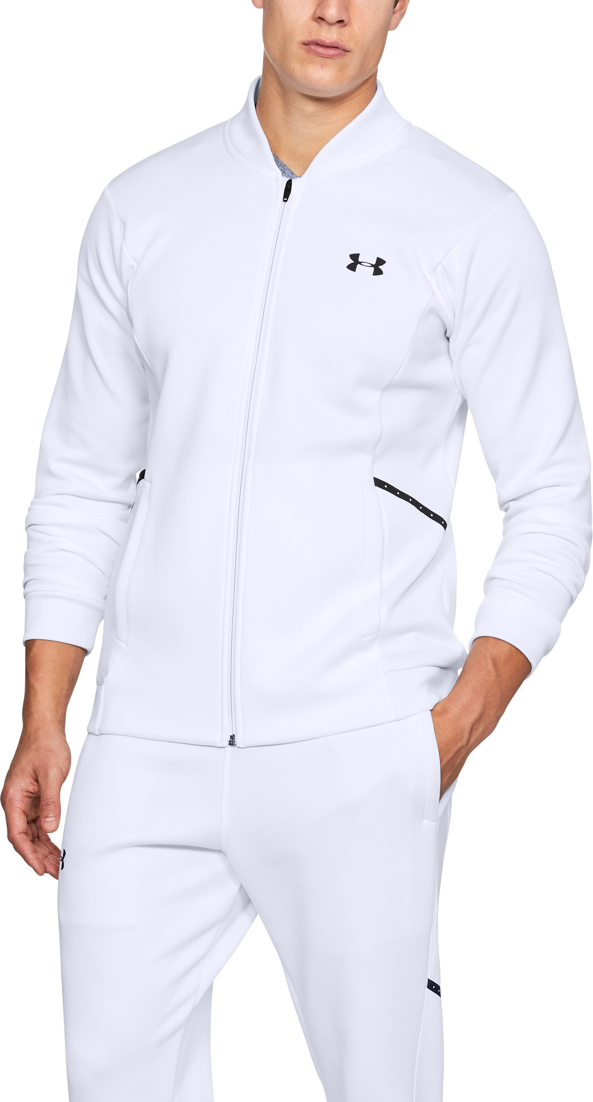 Men's UA Forge Warm Up Jacket 1 Color $67.50