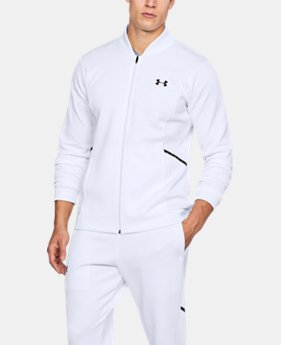 Men's UA Forge Warm Up Jacket  1  Color Available $90