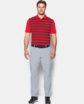 Men's UA Flagstick Stripe Polo  1 Color $35.99 to $48.99