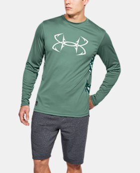 Men's UA Fish Hunter Tech Long Sleeve  1  Color Available $40