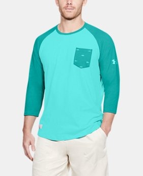 Men's UA Dockside Charged Cotton® Baseball T-Shirt  2 Colors $35