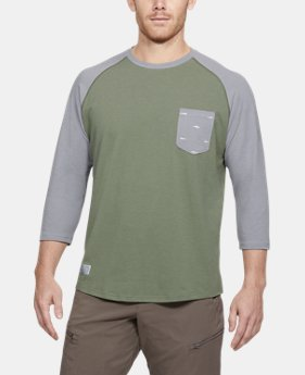 Men's UA Dockside Charged Cotton® Baseball T-Shirt  1 Color $35