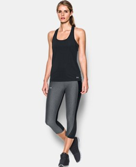 Women's UA Fly-By Classic Racerback  4 Colors $29.99