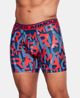 Men's UA Original Series Printed Boxerjock®  1  Color Available $18.75