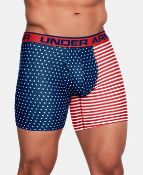 Men's UA Original Series Printed Boxerjock® 3 for $50 4  Colors Available $25