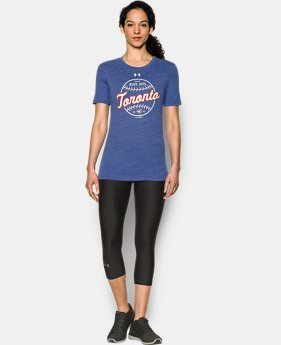 Women's Toronto Blue Jays UA Charged Cotton® Tri-Blend T-Shirt  1 Color $27.99