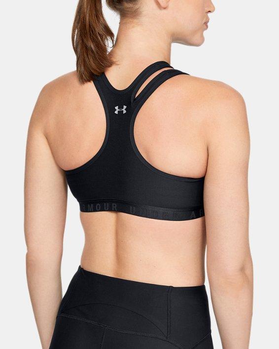 Women's UA Asymmetrical Sportlette Bra, Black, pdpMainDesktop image number 1