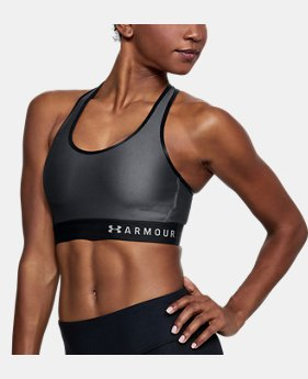 Women's Armour® Mid Sports Bra  1 Color $28