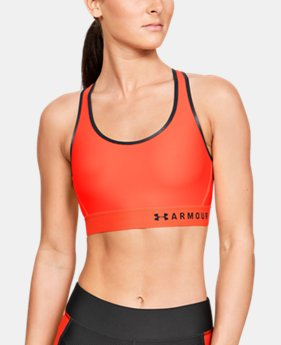 939e7803d397a Women's Armour® Mid Sports Bra 2 Colors Available $35