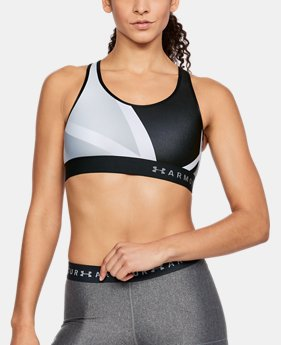 Women's Armour® Mid Print Sports Bra  4 Colors $30