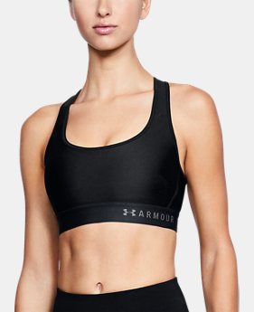 Women's Armour® Mid Crossback Sports Bra FREE U.S. SHIPPING 1  Color Available $35
