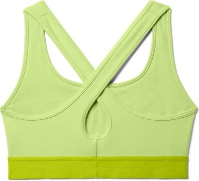 Under Armour Mid Solid Bra Ladies Athletic Underclothes