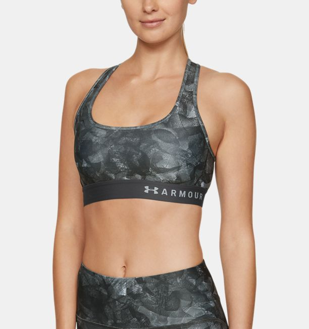 1b7111bb7c Women s Armour® Mid Crossback Print Sports Bra