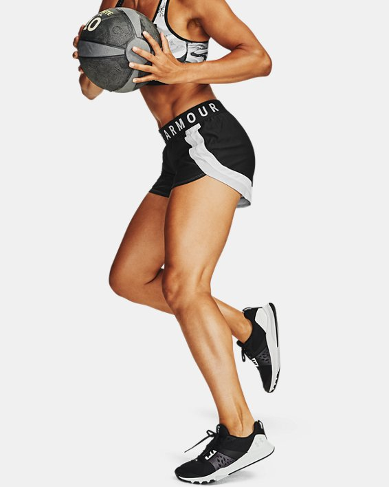Women's Armour® Mid Crossback Print Sports Bra, Black, pdpMainDesktop image number 6