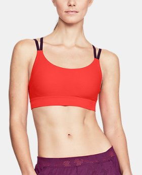 New to Outlet Women's UA Vanish Shape Low Sports Bra  1  Color Available $30 to $30.99