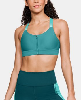 Women's UA Vanish High Zip Sports Bra  1  Color Available $48.75