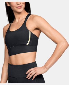 Women's UA Breathelux Perforated Mid Sports Bra  2  Colors $70