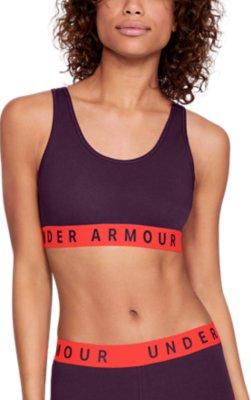 Under Armour UA Womens Favourite Everyday Low Impact Cotton Grey Gym Sports Bra