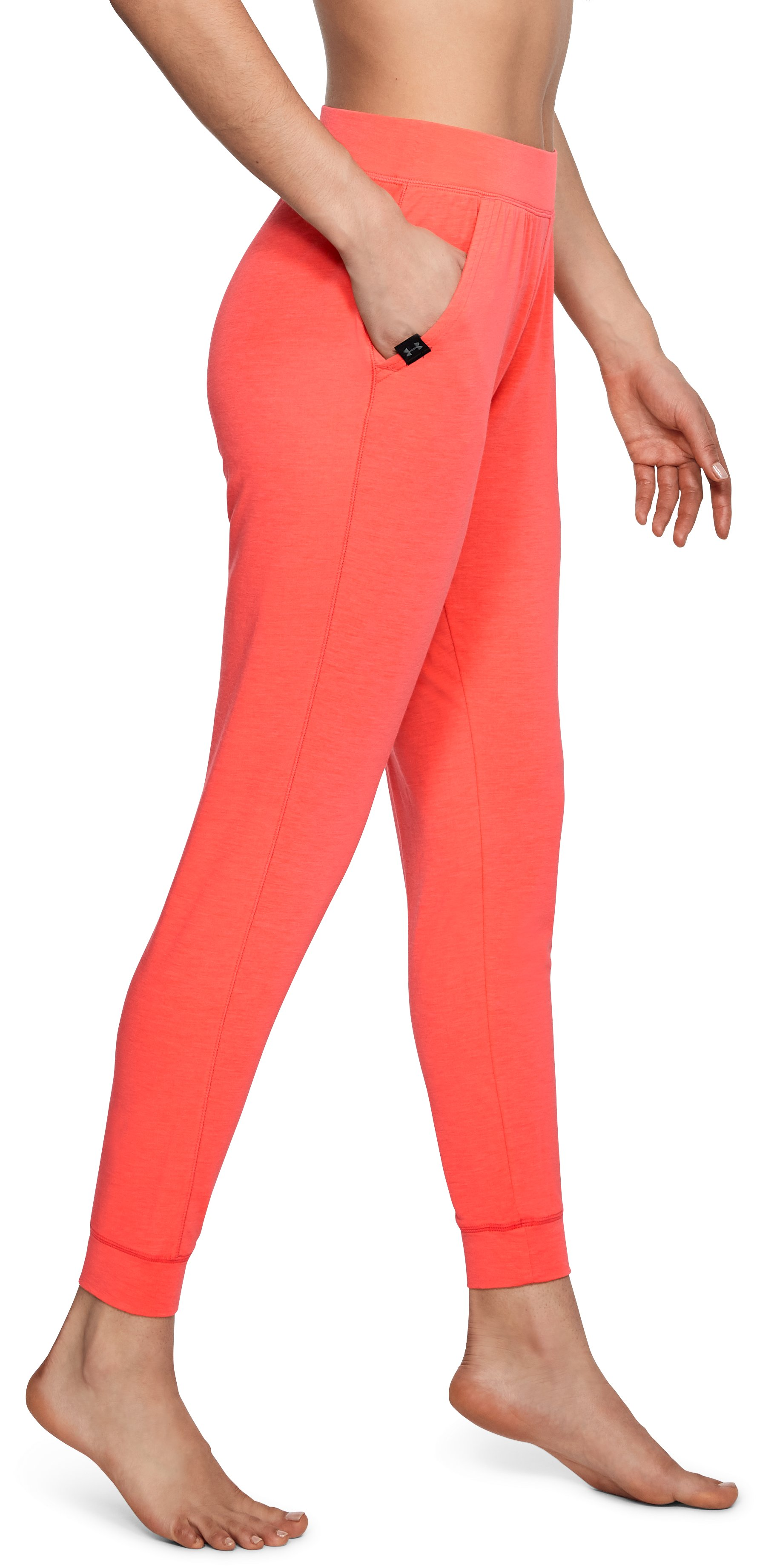 Women's Athlete Recovery Elite Sleepwear Joggers, Vermilion, undefined