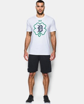 Men's Detroit Tigers St Patty's T-Shirt  1  Color Available $26.24
