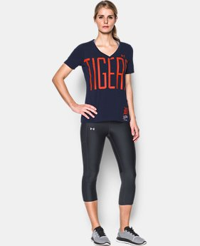 Women's Detroit Tigers Offshore V-Neck  1 Color $34.99