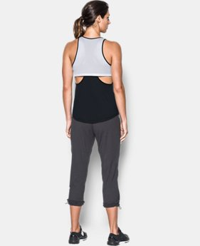 Women's UA Flashy Faux 2-in-1 Tank  1 Color $39.99