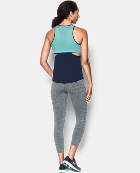 Women's UA Flashy Faux 2-in-1 Tank  1 Color $34.99