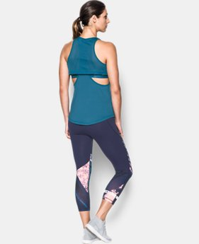 Women's UA Flashy Faux 2-in-1 Tank  1 Color $19.99 to $24.49