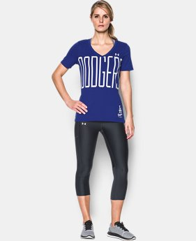 Women's Los Angeles Dodgers Offshore V-Neck  1 Color $21.99