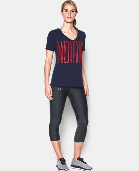 New Arrival Women's Cleveland Indians Offshore V-Neck  1 Color $34.99