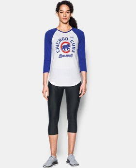 Women's Chicago Cubs ¾ Sleeve T-Shirt  1 Color $34.99