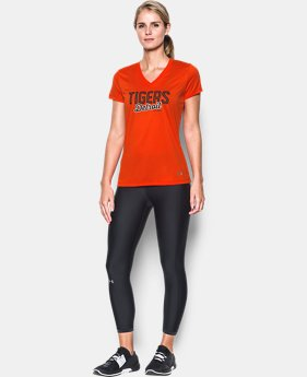 New Arrival Women's Detroit Tigers UA Tech™ V-Neck T-Shirt  1 Color $34.99