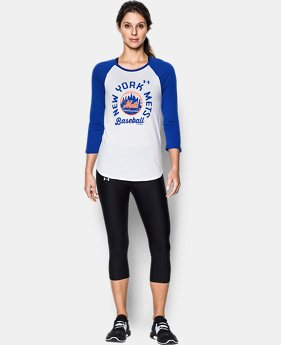 Women's New York Mets ¾ Sleeve T-Shirt  1 Color $26.99