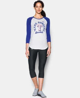 Women's Texas Rangers ¾ Sleeve T-Shirt  1 Color $19.99