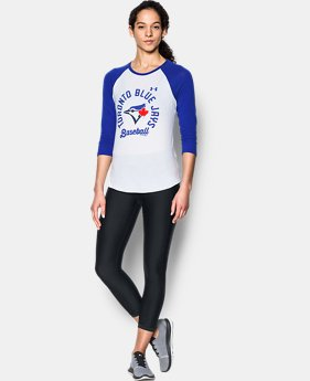 Women's Toronto Blue Jays ¾ Sleeve T-Shirt  1  Color Available $34.99
