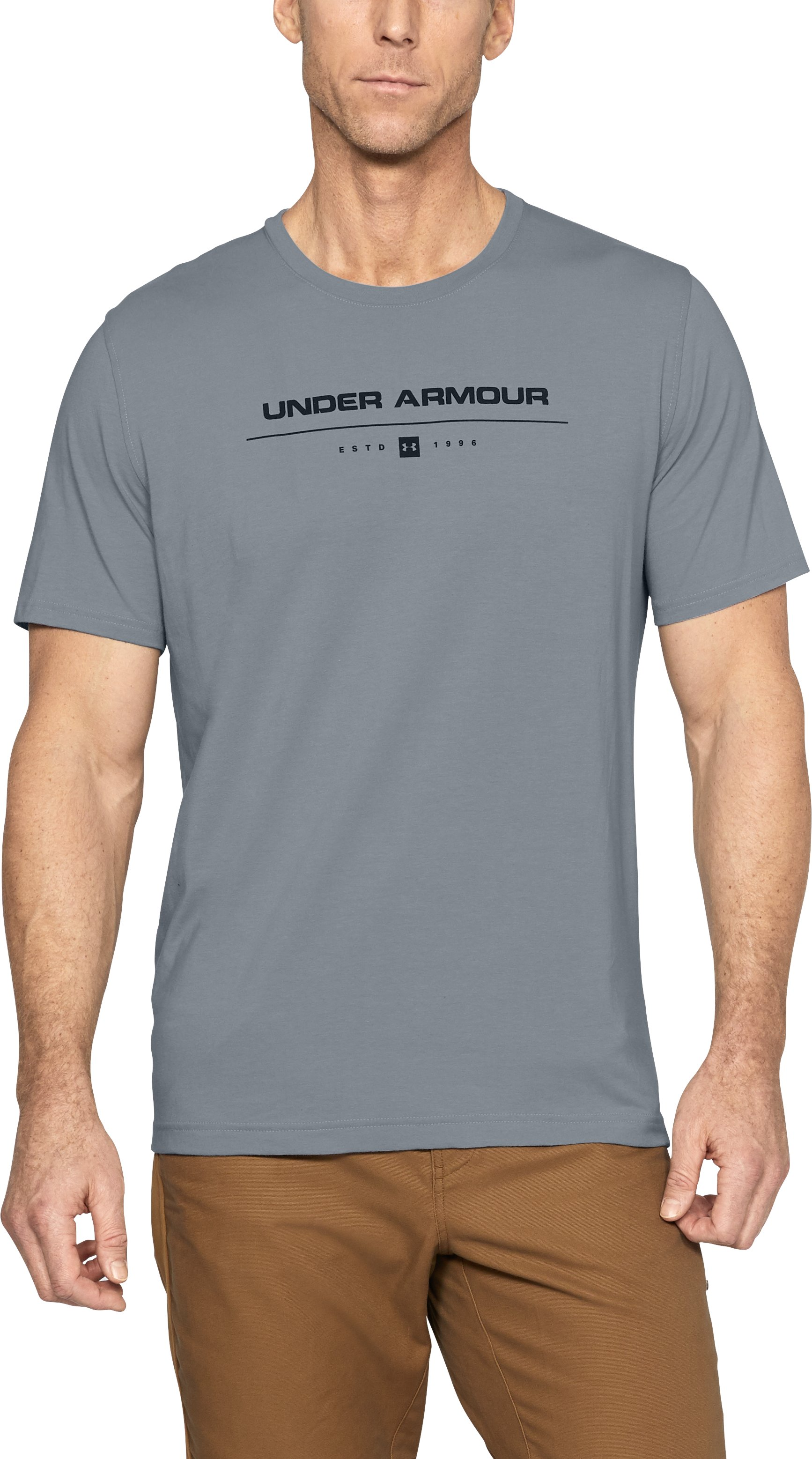 Men's Outdoor Stacked T-Shirt 1 Color $18.74