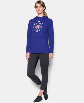 Women's Chicago Cubs Armour® Fleece Hoodie  1 Color $48.99