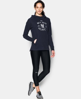 Women's New York Yankees Armour® Fleece Hoodie  1 Color $69.99
