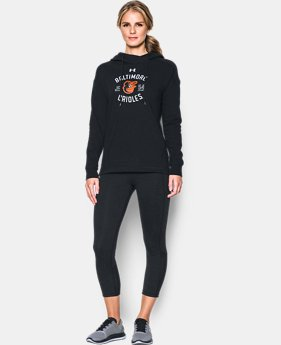 New Arrival Women's Baltimore Orioles Armour® Fleece Hoodie  1 Color $69.99